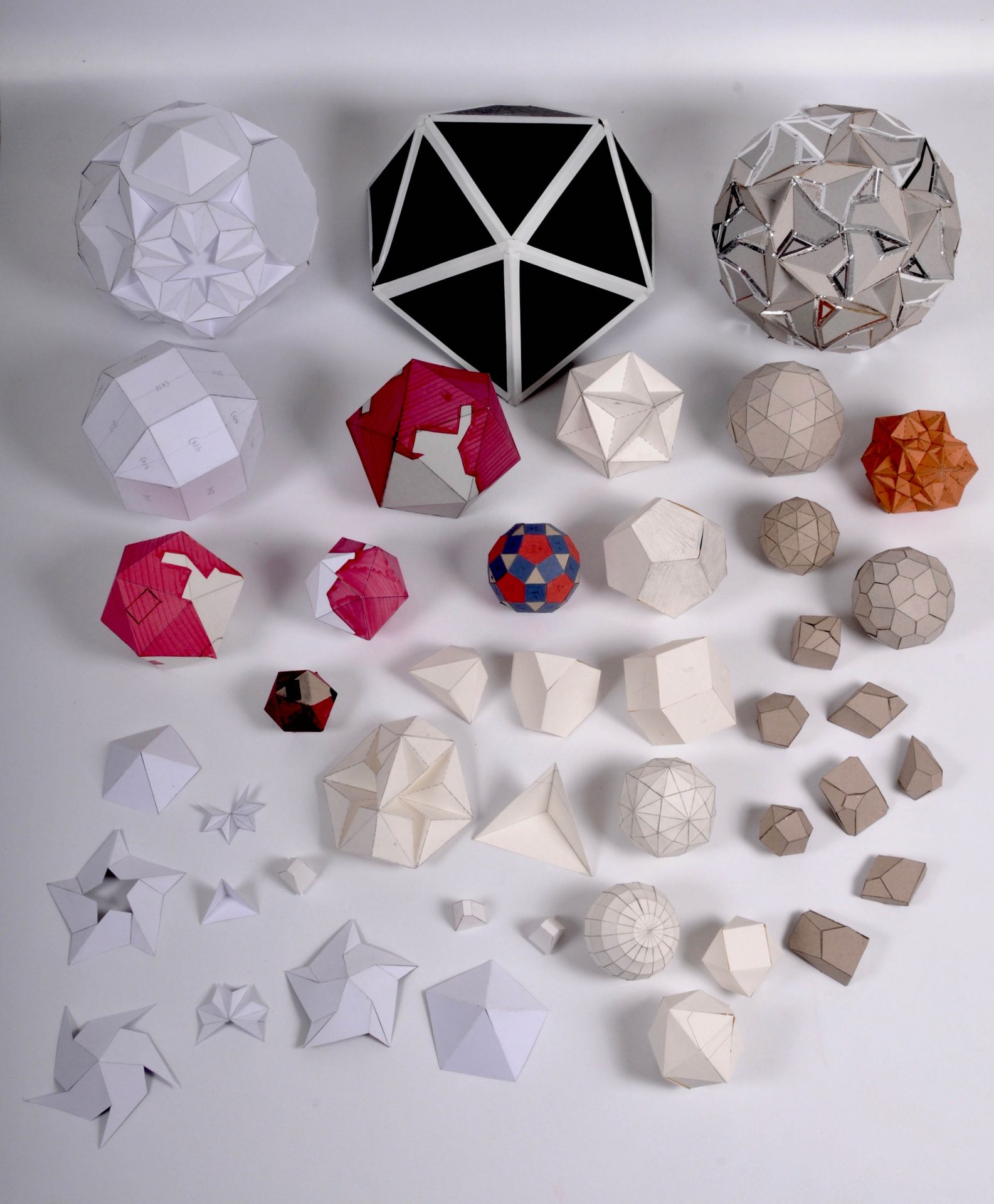 A Collection of Prototypes paper various dimensions